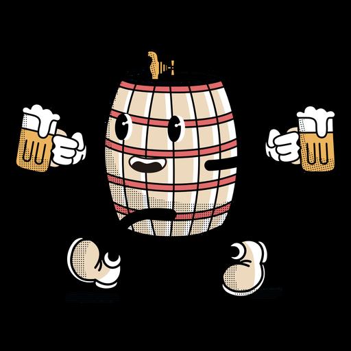 Character oktoberfest barrel