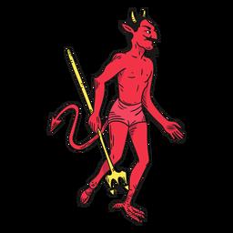 Diablo rojo del personaje