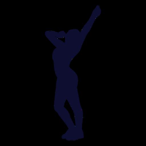 Bailando silueta mujer Transparent PNG