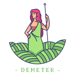 Deméter dios griego deméter