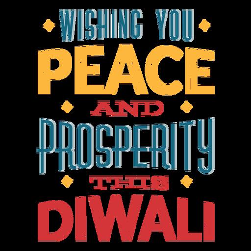 Letras de Diwali deseándote paz