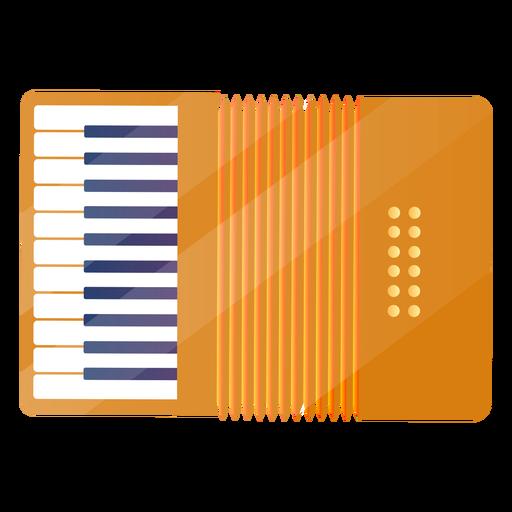 Flat accordion Transparent PNG
