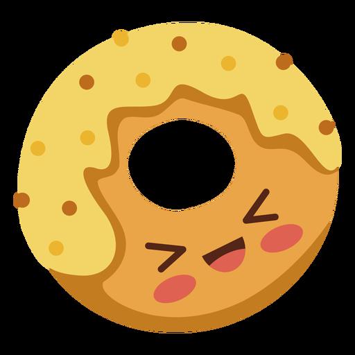 Flacher Kawaii Donut