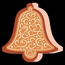 Galleta de campana de pan de jengibre