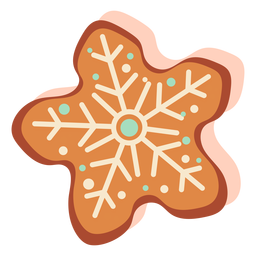Gingerbread cookie biscuit