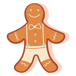 Gingerbread cookie boy