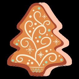 Galleta de jengibre árbol de navidad