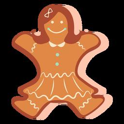Menina de biscoito de gengibre