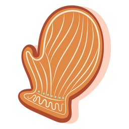 Gingerbread cookie glove