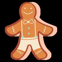 Homem de biscoito de gengibre doce