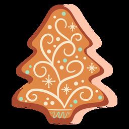 Árbol de Navidad de galleta de jengibre