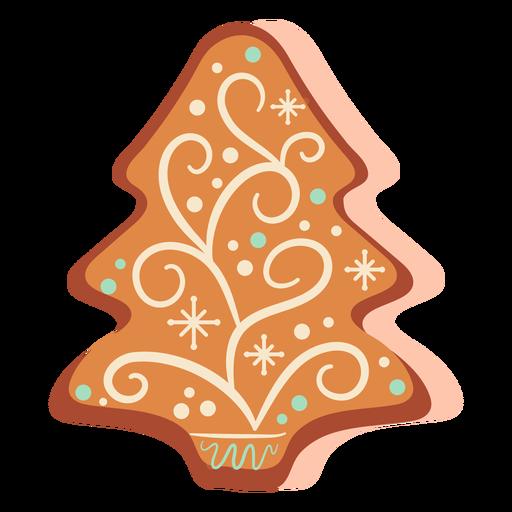 Árvore de natal de biscoito de gengibre