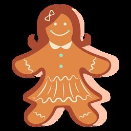 Biscoito de gengibre menina