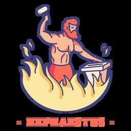 Hephaistos griechischer Gott