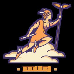 Carácter de dios griego Hermes