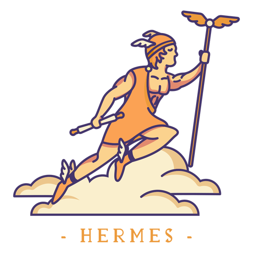 Hermes, deus grego, personagem Transparent PNG