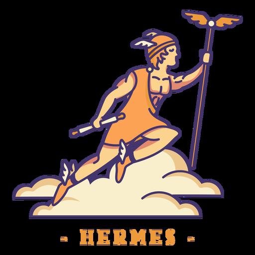 Hermes greek god character Transparent PNG