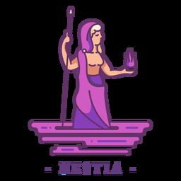 Hestia dios griego personaje