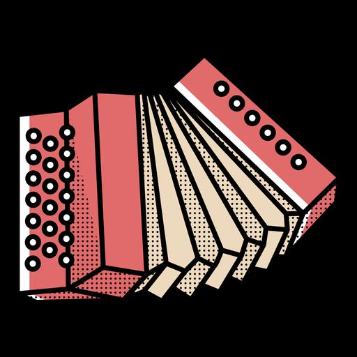 Acordeón icono