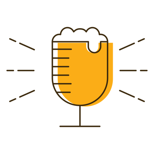 Icon beer glass Transparent PNG