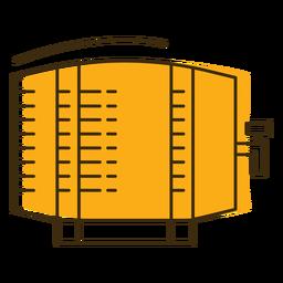 Barril de cerveza icono