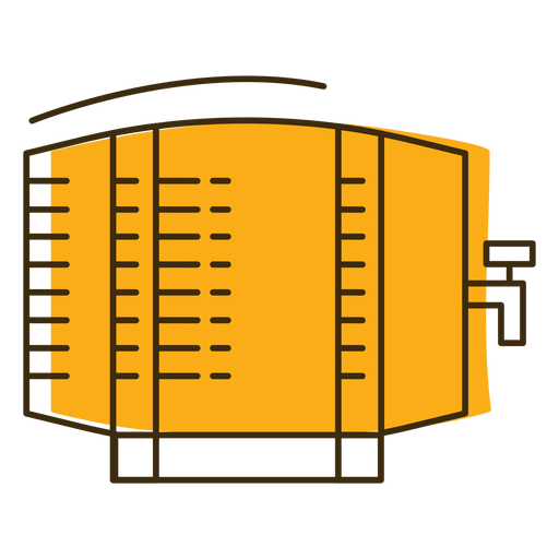 Icon beer barrel keg