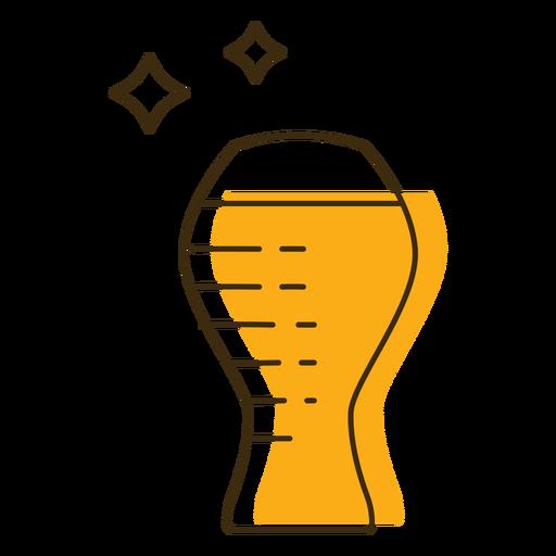 Icon beer glass mug