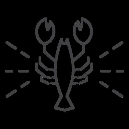 Icon crawfish