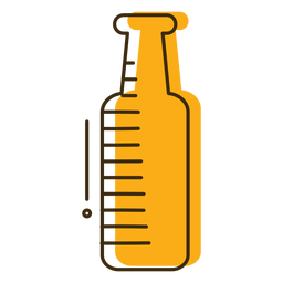 Botella de vidrio icono