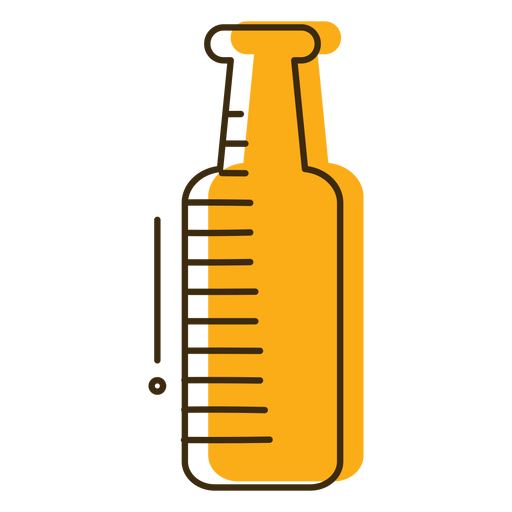 Icon glass bottle