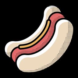 Hotdog de icono