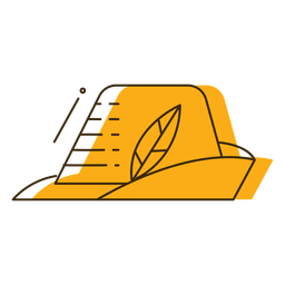 Icon oktoberfest hat