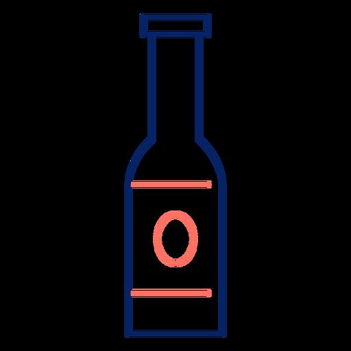 Icon ostroke bottle