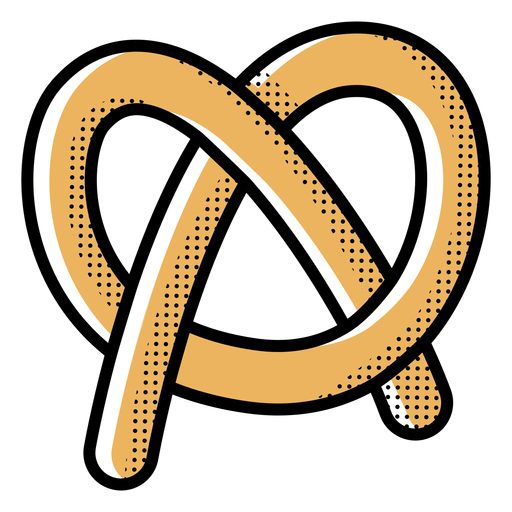 Icon pretzel food Transparent PNG