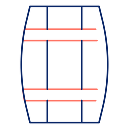 Icon stroke barrel