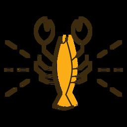Icono de cangrejo de río