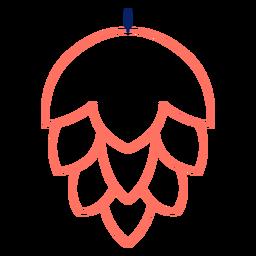 Color de salto de trazo de icono