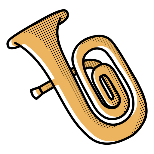 Icon stroke trumpet Transparent PNG