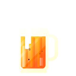 Illustration beer mug
