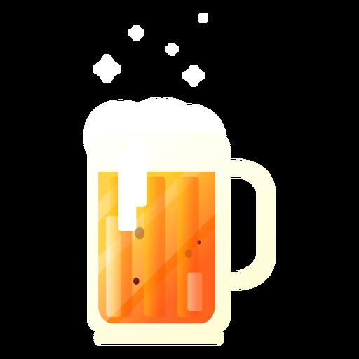 Illustration beer mug