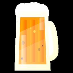 Diseño de jarra de cerveza de ilustración