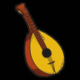 Guitarra de ilustração