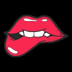 Illustration Lippen