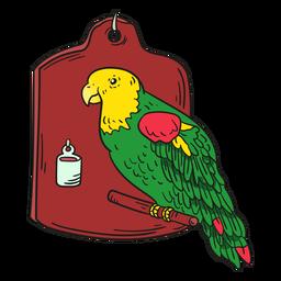 Illustration Papagei