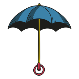 Illustration umbrella