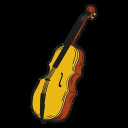 Violino de ilustração