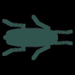 Inseto silhueta bug