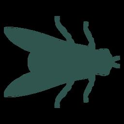 Inseto silhueta inseto voar