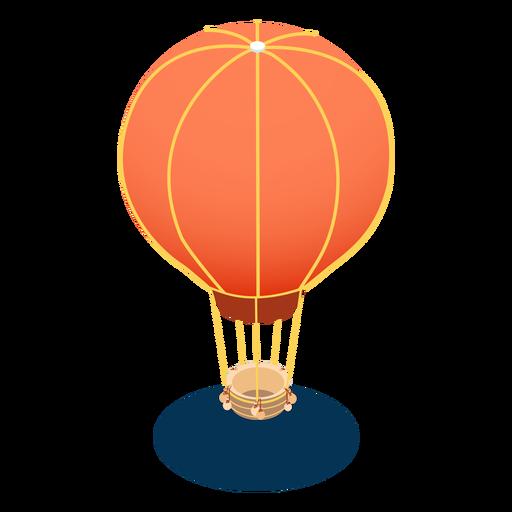 Isometric transport aerostat Transparent PNG
