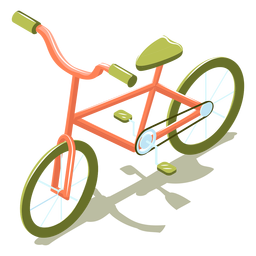 Isometric transport bike